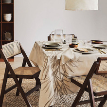久伴IguS北欧复古an背折叠餐椅藤编餐厅酒店阳台简约家用椅子