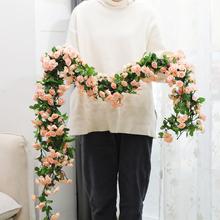 [gvzix]仿真玫瑰假花藤阳台吊篮藤椅装饰吊
