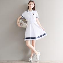 18夏gz新式17初wh15少女孩16甜美可爱13岁(小)清新14短袖连衣裙