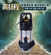 耐腐蚀gz轮车铜线直sf潜水泵(小)型48v24电动车保证家用1寸加压