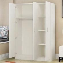 收纳柜gz易木柜子衣qq柜组装柜子家用卧室实木柜家具木制板式