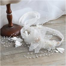 超仙韩式甜美新娘头饰套装