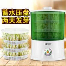 豆芽机gz用全自动大wl庭用发豆牙机智能生绿豆芽机器种子四种
