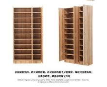 定制多gz板式木质衣wl层鞋柜实木质组装大储物柜北京包邮安装