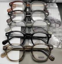 MOShaOT玛士高ftTOSH复古潮的眼镜框男进口板材女近视眼镜