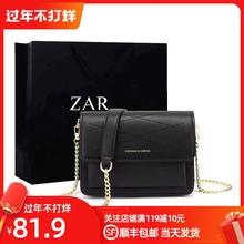 香港正ha2020新ia包时尚百搭(小)包包单肩斜挎(小)方包链条