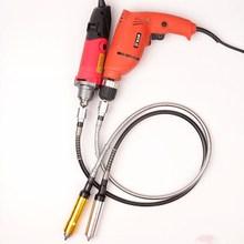 电磨软轴夹头雕刻ha5手电钻配ia磨钢丝玉石吊磨机吊磨电磨。