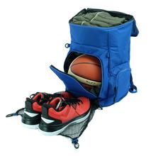 VSTha0N背包可ao足球装备包运动书包双肩包防水篮球袋