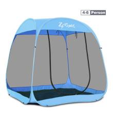 全自动ha易户外帐篷na-8的防蚊虫纱网旅游遮阳海边