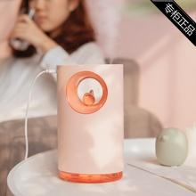 专柜品牌(小)鸟加湿器创ha7家用大容ve乐精灵加湿器呼吸氛围灯
