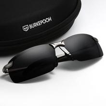 司机眼he开车专用夜rt两用太阳镜男智能感光变色偏光驾驶墨镜