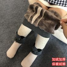 [hebaizhan]宝宝加绒裤子男女童打底裤