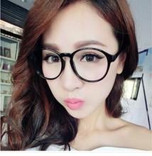 新式男he韩款时尚大nr镜眼镜架女士复古装饰圆形平光镜眼镜框