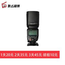 【租赁heYONGNnr永诺 YN600EX-RT II热靴佳能相机平面摄影