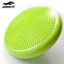 Joihefit平衡lb康复训练气垫健身稳定软按摩盘宝宝脚踩瑜伽球