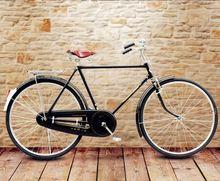 自行车he6/28��un古老式男自行车老式车