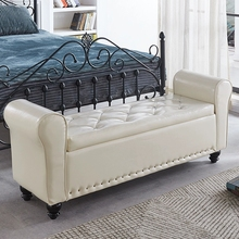家用换hf凳储物长凳jw沙发凳客厅多功能收纳床尾凳长方形卧室