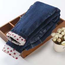 女童棉裤外穿三层加绒加厚