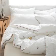 全棉被hf冬被双的空pd棉宝宝学生宿舍棉被单的6/3/4斤春秋被