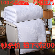正品蚕hg被100%xh春秋被子母被全棉空调被纯手工冬被婚庆被子