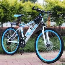 26寸hg地车二手车ww女式学生越野无链条一体自行车9成新单车