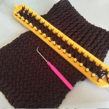 圆形工hh(小)型家用织sl毛线帽编织器手套创意手工织围巾
