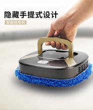 懒的静hi扫地机器的la自动拖地机擦地智能三合一体超薄吸尘器