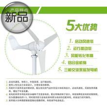 风机防hi质量新型风th率发电机e(小)型迷 风力 12v 24v节能家用