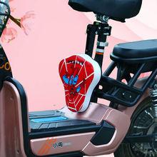 电动车儿童前置hj椅可折叠自fc地车儿童前置座椅宝宝安全座椅