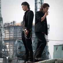 热血高hk男士立领中lx学生铃兰校服(小)西装外套源治同式单西服