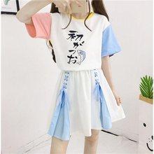 加内衬hm系少女蝴蝶rpins半身裙女夏装学生(小)清新仙女a字短裙