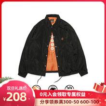 S-ShnDUCE bs0 食钓秋季新品设计师教练夹克外套男女同式休闲加绒