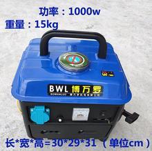 (小)型便hn式 迷你 pl20v家用手提户外充电单相发电机