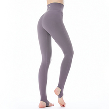 FLYhoGA瑜伽服an提臀弹力紧身健身Z1913 烟霭踩脚裤羽感裤