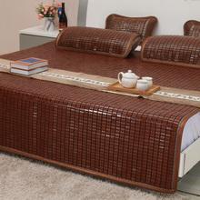 晨竹夏ho席折叠麻将gi碳化麻将凉席单双的1.5米1.8m床席