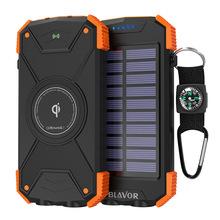 叛逆者ho马逊爆式BaaOR太阳能移动电源无线充电器
