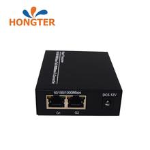 工业环ho交换机百兆el光2电4电8电光纤收发器网管型自愈冗余环网交换机工业交换