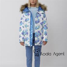 泰国设计师品牌 Sretsihs11 玫瑰ys面可穿大毛领外套