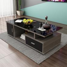 简约现ht(小)户型钢化lr视柜组合客厅(小)户型创意桌子