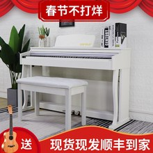 琴88hu重锤成的幼ou宝宝初学者家用自学考级专业电子钢琴