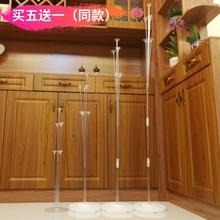 桌面支hu气球0.7ou6米高度地上撑起一束球生日结婚路引桌飘立柱