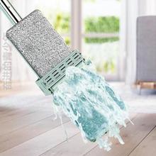 长方形hu捷平面家用ot地神器除尘棉拖好用的耐用寝室室内