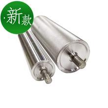 流水线hu筒输送机托an动力辊筒传送带主动轴动力滚轮镀锌配件