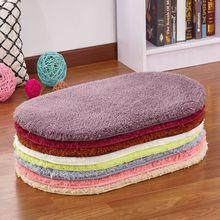 进门入hu地垫卧室门ze厅垫子浴室吸水脚垫厨房卫生间防滑地毯