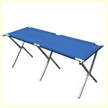 摆地摊hu示折叠桌摆ou便携式卖衣服的简易货架金属户外加固厚