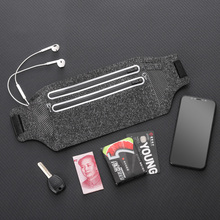 隐形手hu包运动腰包mo腰带男多功能装备健身贴身旅行护照(小)包
