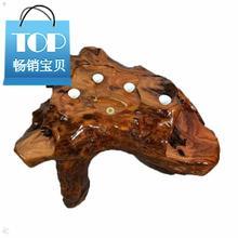 根雕茶hu(小)号家用整mo根茶几客厅阳台实木(小)茶海经济型功夫茶