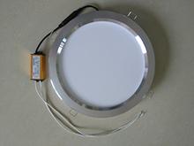 集成吊hu浴霸取暖器ng灯8寸LED平板灯卫生间厨房四灯暖+照明