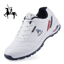 保罗运hu鞋内增高跑pn士透气休闲波鞋软底旅游商务(小)白鞋皮鞋