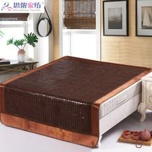 麻将凉hu1.5m床ua学生单的床双的席子折叠麻将块 夏季1.8m床